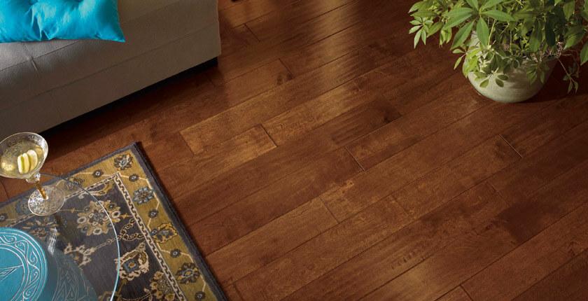 Coles Fine Flooring | Hand-scraped Hardwood floors
