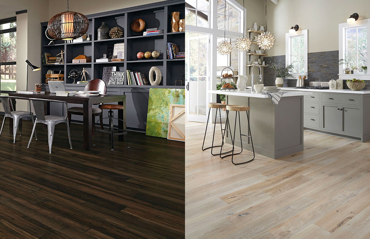 Hardwood Flooring Dark Vs Light Coles Fine Flooring