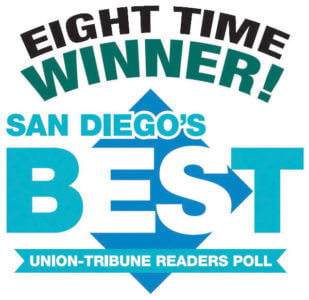 Eight Time Winner San Diego's Best