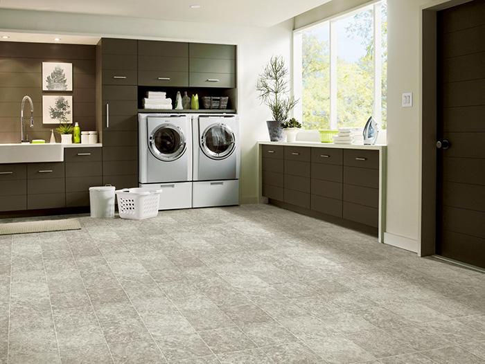 Coles Fine Flooring | Armstrong Luxury Vinyl Tile laundry room