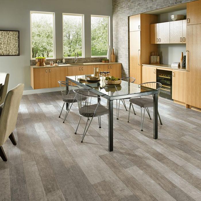 Coles Fine Flooring | Armstrong Luxury Vinyl Tile kitchen