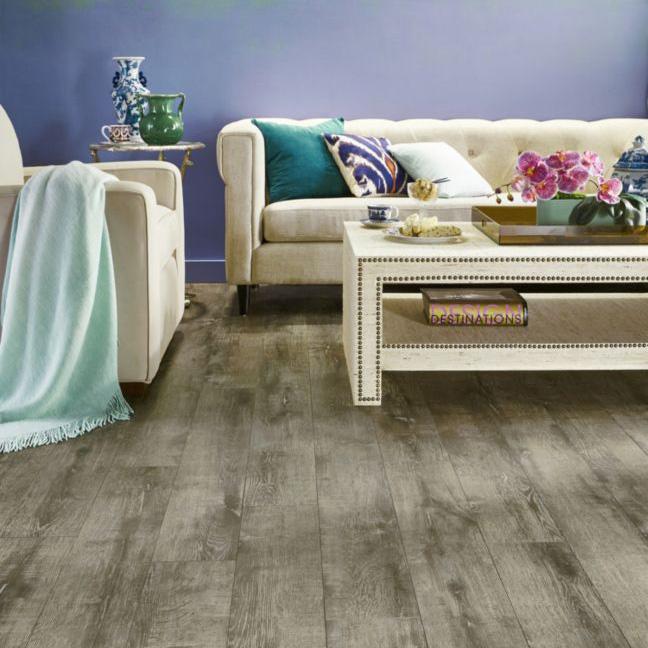 Coles Fine Flooring   grey laminate living room floor