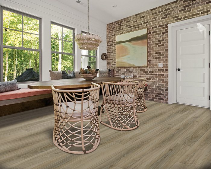 Coles Fine Flooring   Karastan Luxury Vinyl Plank home office