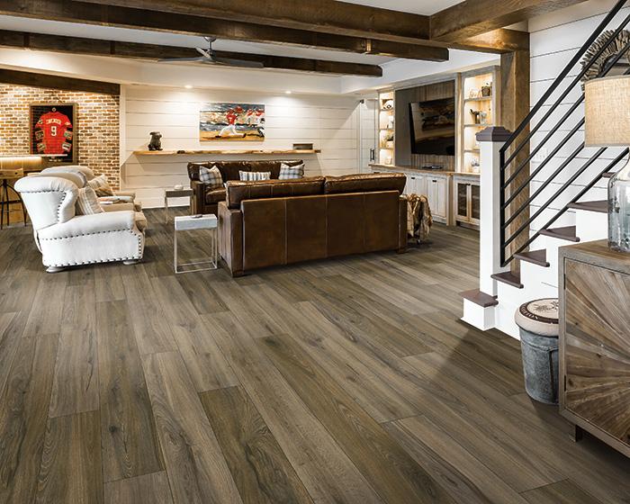 Coles Fine Flooring | Karastan Luxury Vinyl Plank living room