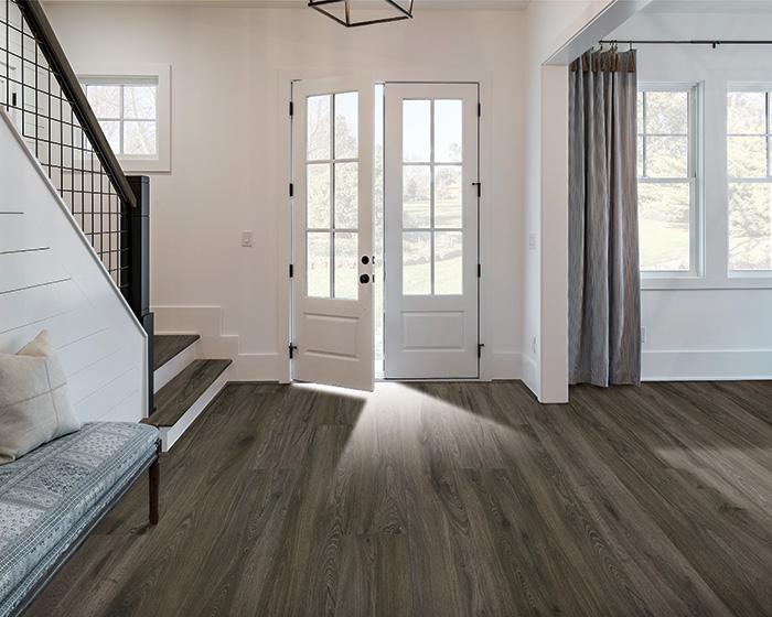 Coles Fine Flooring | Karastan Luxury Vinyl Plank entryway