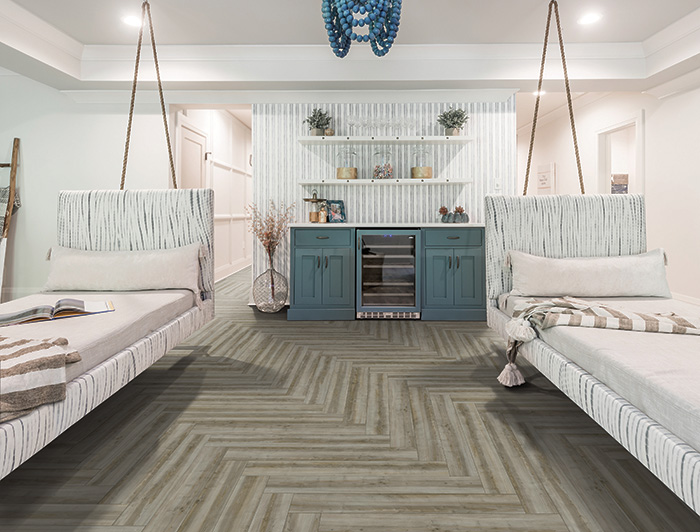Coles Fine Flooring | Karastan Luxury Vinyl Plank bedroom