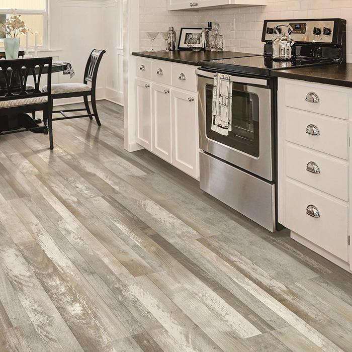 Coles Fine Flooring | grey laminate kitchen floor