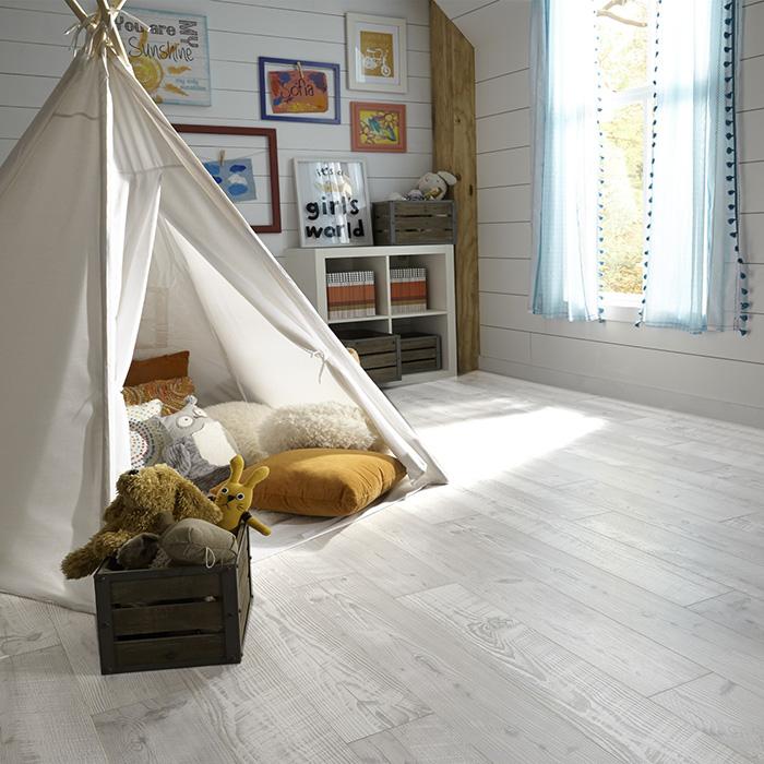 Coles Fine Flooring   grey laminate bedroom floor