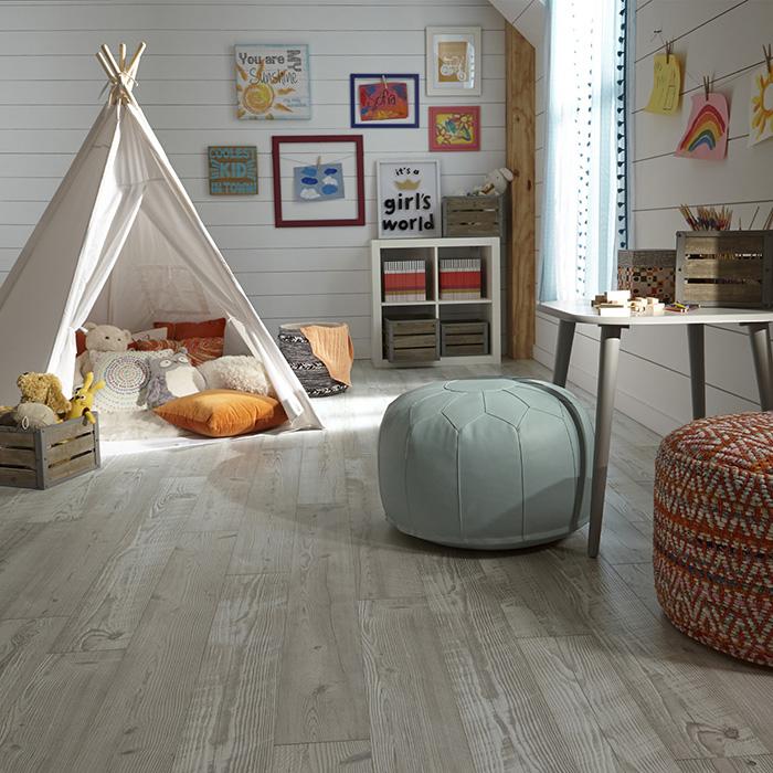 grey laminate bedroom floor