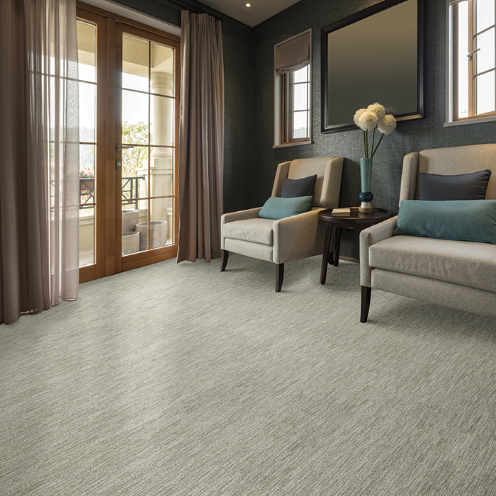 Coles Fine Flooring | grey carpet and chairs