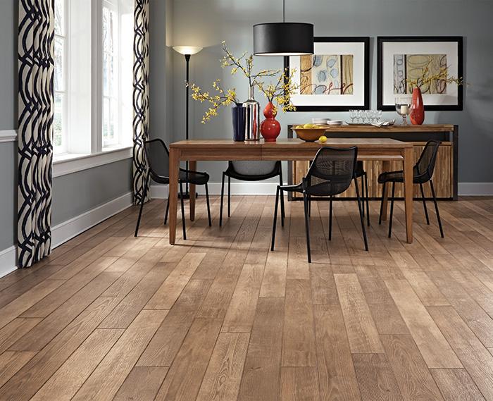 laminate dining room floor