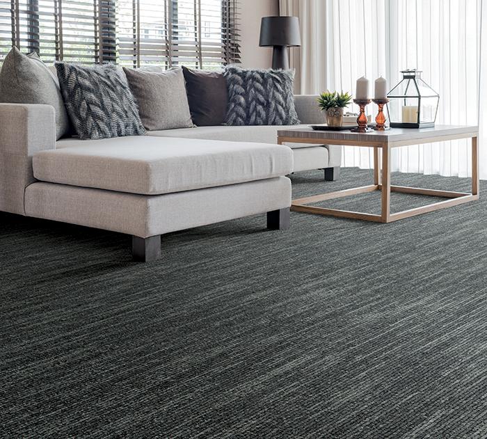 Coles Fine Flooring | dark patterned carpet living room