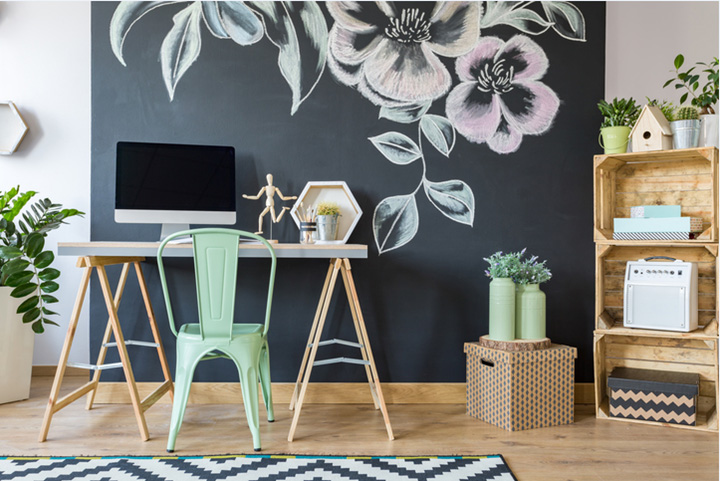 Coles Fine FLooring | How to create a home office