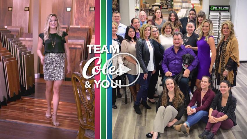 Coles Fine Flooring   Team Coles video