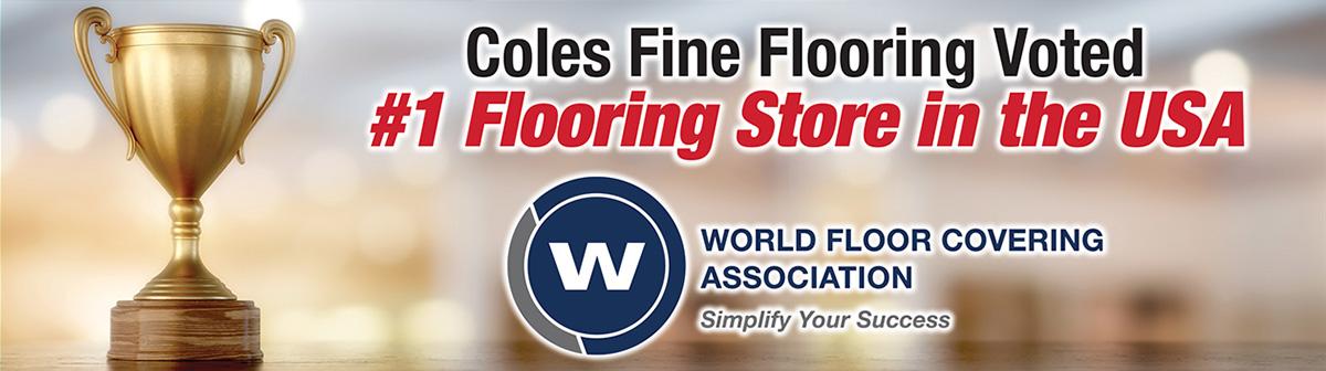 Coles Fine Flooring | WFCA award