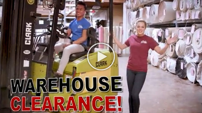 Coles Fine Flooring   Warehouse Clearance video