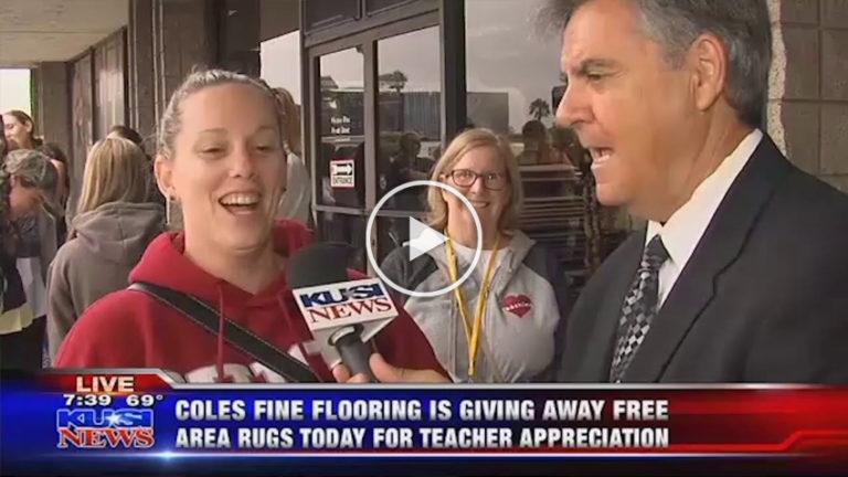 Coles Fine Flooring   Teacher Appreciation Area Rug Giveaway 2018