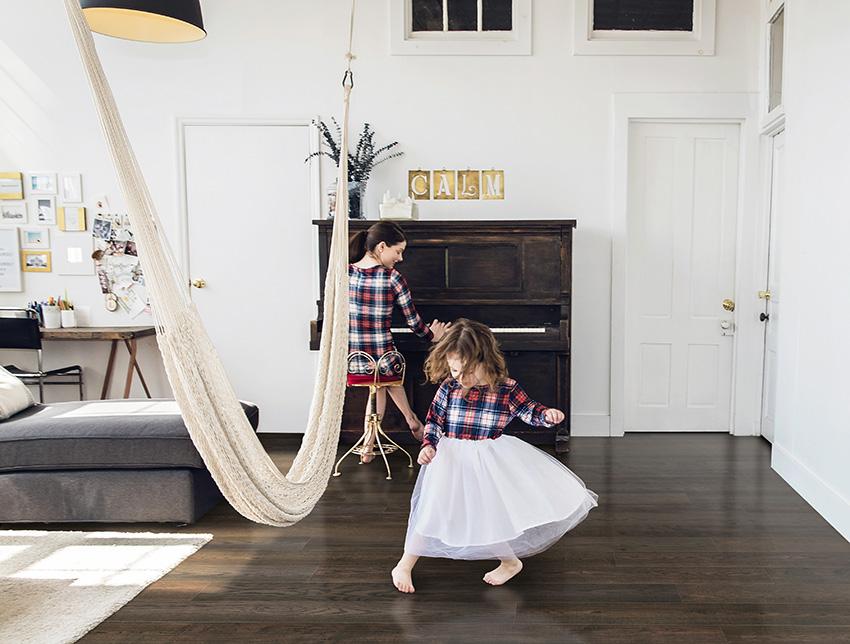 Coles Fine Flooring | family holiday hardwood floor