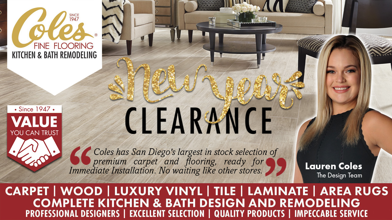 Coles Fine Flooring | New Year Clearance