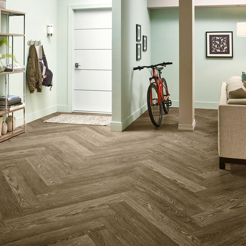 Coles Fine Flooring | Herringbone luxury vinyl