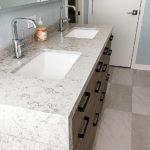 Coles Fine Flooring | Calming Coastal Master Bathroom remodel