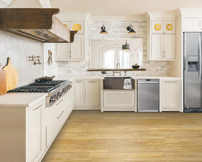 Karastan Vinyl flooring Light wood
