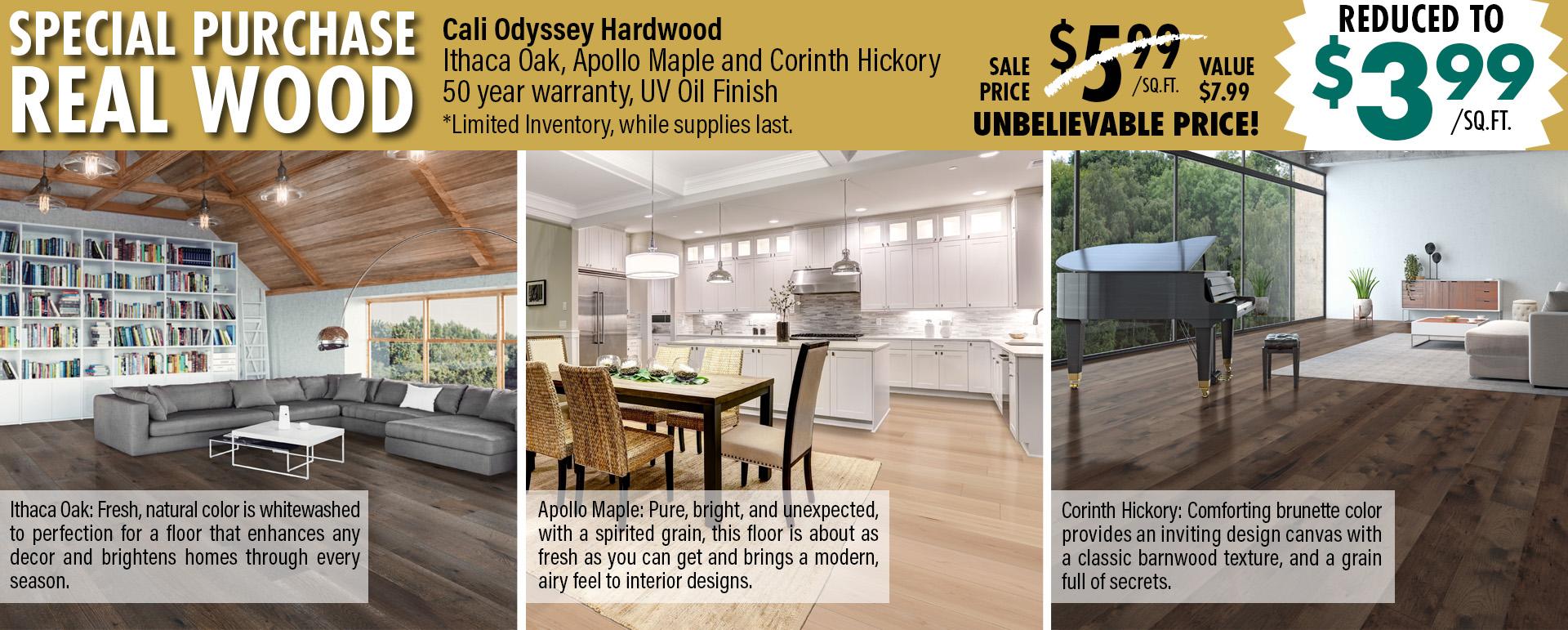 Coles Fine Flooring | Cali Hardwood Special