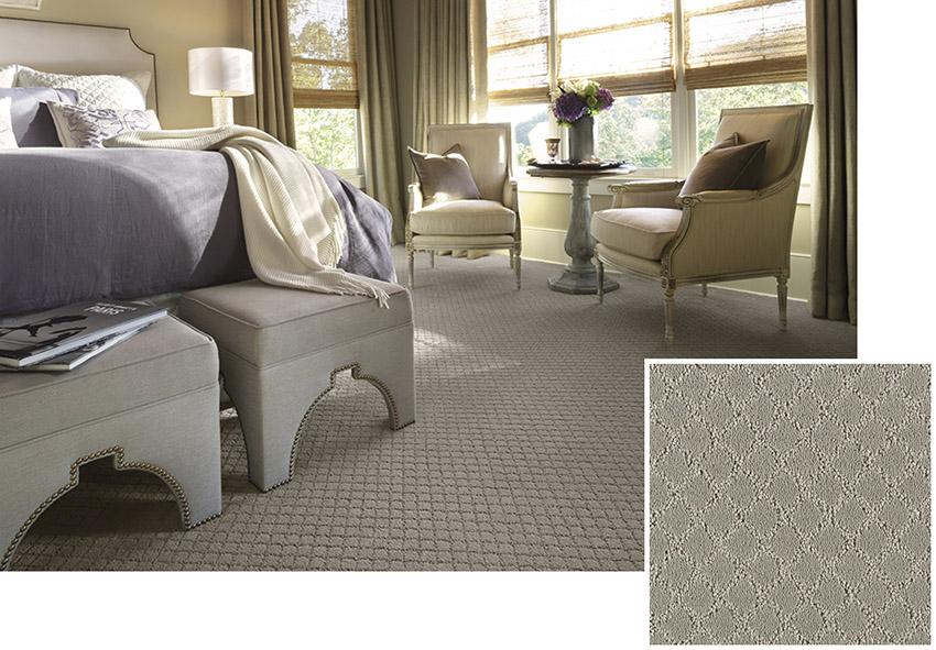 Coles Fine Flooring   Patterned Karastan Carpet
