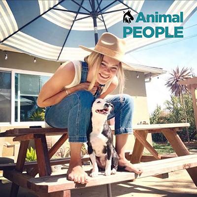 Coles Fine Flooring | Lauren Coles and Sophie the Terrier