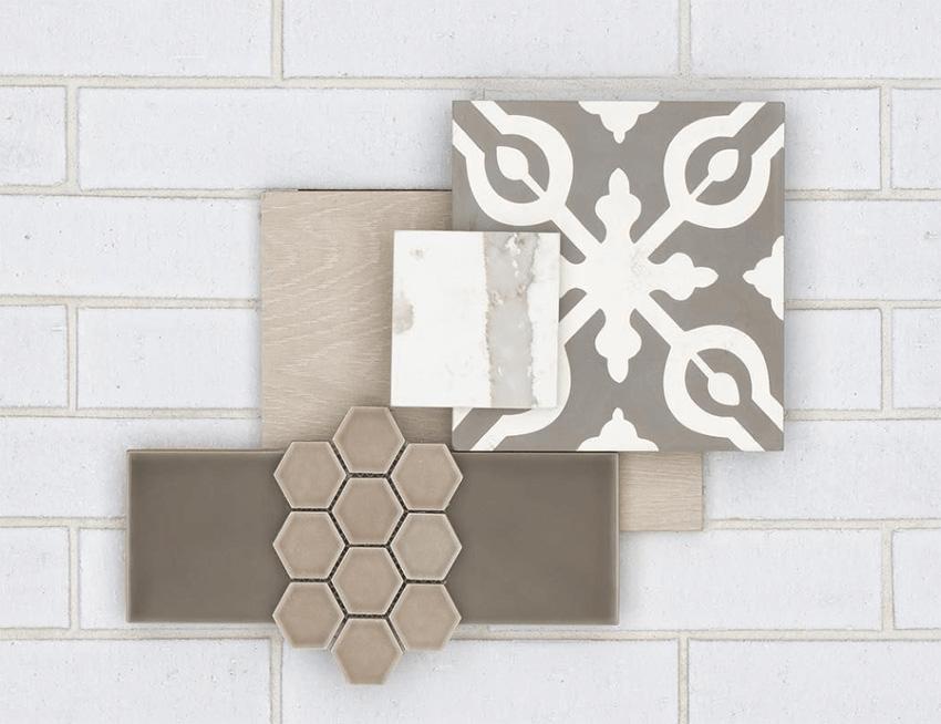 Coles Fine Flooring | Tile flatlay beige