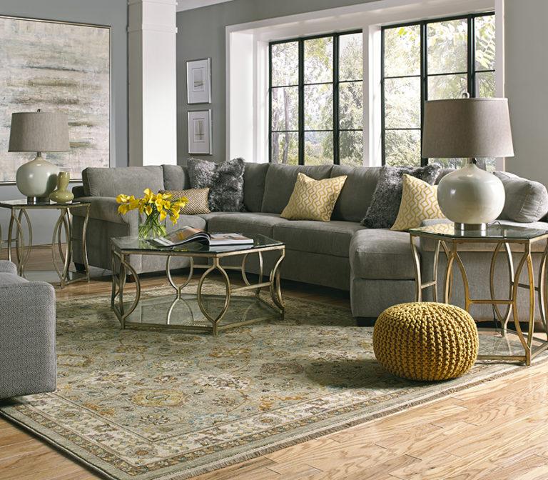Coles Fine Flooring   grey living room large area rug